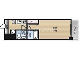 ドゥエリング蒲生[8階]の間取り