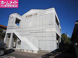 愛知県名古屋市緑区神の倉2丁目の賃貸アパートの外観