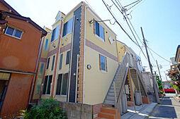 神奈川県川崎市川崎区田島町の賃貸アパートの外観