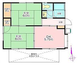 [一戸建] 埼玉県鶴ヶ島市大字三ツ木 の賃貸【/】の間取り