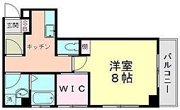 第1マンション海老原[303号室]の間取り