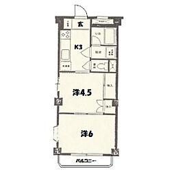 ミユキ第2ビル[2階]の間取り
