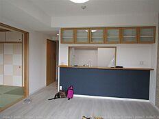 対面式キッチンで明るく開放的なLDKになりました