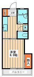 サニールーム[2階]の間取り