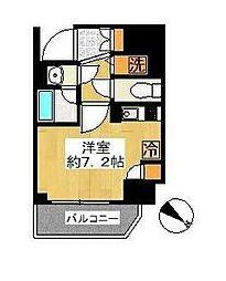 アヴァンツアーレ川崎EAST[5階]の間取り