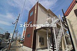 岡山県岡山市中区原尾島2丁目の賃貸アパートの外観