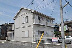 東京都昭島市緑町3丁目の賃貸アパートの外観