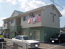 愛媛県松山市山越5丁目の賃貸アパートの外観