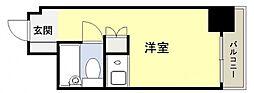 朝日プラザ天王寺東ピエ・タ・テール[4階]の間取り