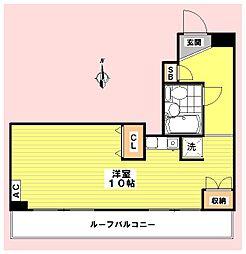 MGビル[7階]の間取り