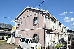 東京都西多摩郡瑞穂町大字石畑の賃貸アパートの外観