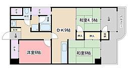 大翔第一ビル[305号室]の間取り