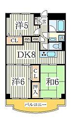 MMビル[6階]の間取り