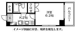 センテニアル横川[704号室]の間取り