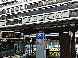 JR横浜駅から...