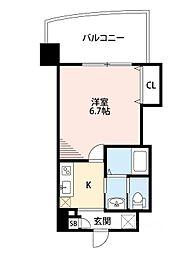 阪神なんば線 九条駅 徒歩5分[6階]の間取り