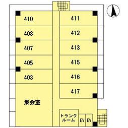 グランセジュール江坂 住居[8階]の外観