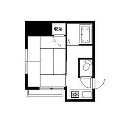宍戸荘[2階]の間取り