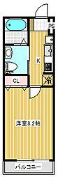ナカヤマビルディング[4階]の間取り