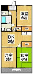 田宮マンション[1階]の間取り