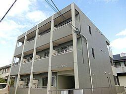 愛知県北名古屋市沖村沖浦の賃貸マンションの外観