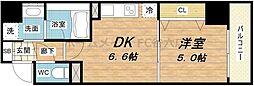 BRAVI南堀江(ブラービ南堀江)[3階]の間取り
