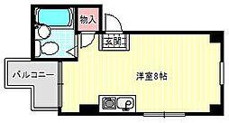 グランドシャトータカオ駒川[3階]の間取り