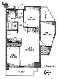 ベルシャトゥ立川 9階