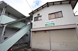 福岡県久留米市山川町の賃貸アパートの外観