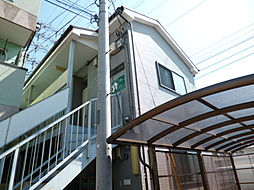東京都府中市紅葉丘3丁目の賃貸アパートの外観