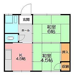 [一戸建] 神奈川県横浜市泉区和泉中央南3丁目 の賃貸【/】の間取り