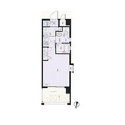 ピュアドーム大濠フローレシア[5階]の間取り