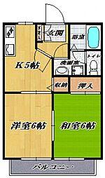 ファミール宮崎台[301号室号室]の間取り