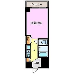 ノアーズアーク21[501号室]の間取り