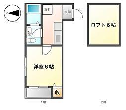 AStral II[1階]の間取り