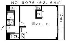 ライラック上本町[2階]の間取り