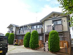 東京都立川市柏町4丁目の賃貸アパートの外観
