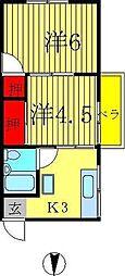 佐藤第一ビル[2階]の間取り