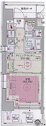 エステムプラザ飯田橋タワーレジデンス[1006号室号室]の間取り