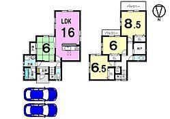 土地面積51.05坪。全てのお部屋が南向きの大変明るい物件です。