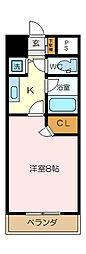 プライマリーナ新杉田[2階]の間取り