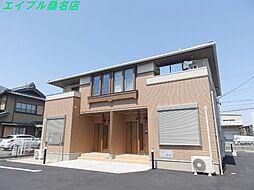 三重県桑名市大字大福の賃貸アパートの外観