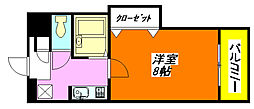 サツキ・マンション 505号室[5階]の間取り