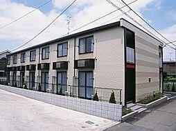 千葉県我孫子市緑2丁目の賃貸アパートの外観