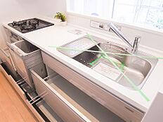 食器洗浄機付きシステムキッチン