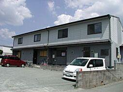 福岡県筑後市大字前津の賃貸アパートの外観
