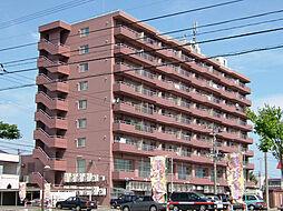 北海道札幌市東区伏古八条4丁目の賃貸マンションの外観