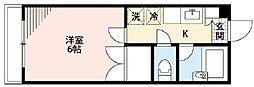 メゾンセントピア弐番館[A-3号室]の間取り