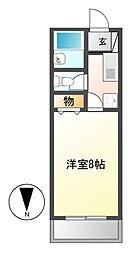 セレニールEXI[4階]の間取り