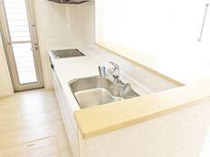 スライド収納、浄水器付水栓